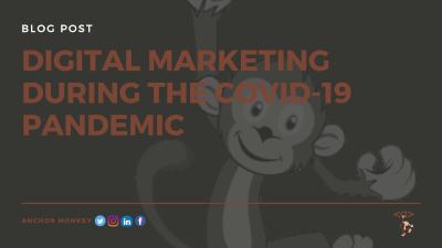 Anchor Monkey Digital marketing during the covid 19 pandemic. Digital Marketing Web Design, SEO, Logo Design in Antigua and Barbuda, Commonwealth of Dominica, Grenada, Montserrat, St. Kitts and Nevis, Saint Lucia and St. Vincent and the Grenadines