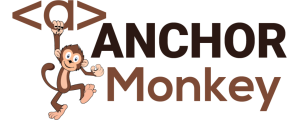 anchor monkey logo black. Digital Marketing Web Design, SEO, Logo Design in Antigua and Barbuda, Commonwealth of Dominica, Grenada, Montserrat, St. Kitts and Nevis, Saint Lucia and St. Vincent and the Grenadines
